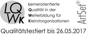IQF ist LQW qualifiziert.
